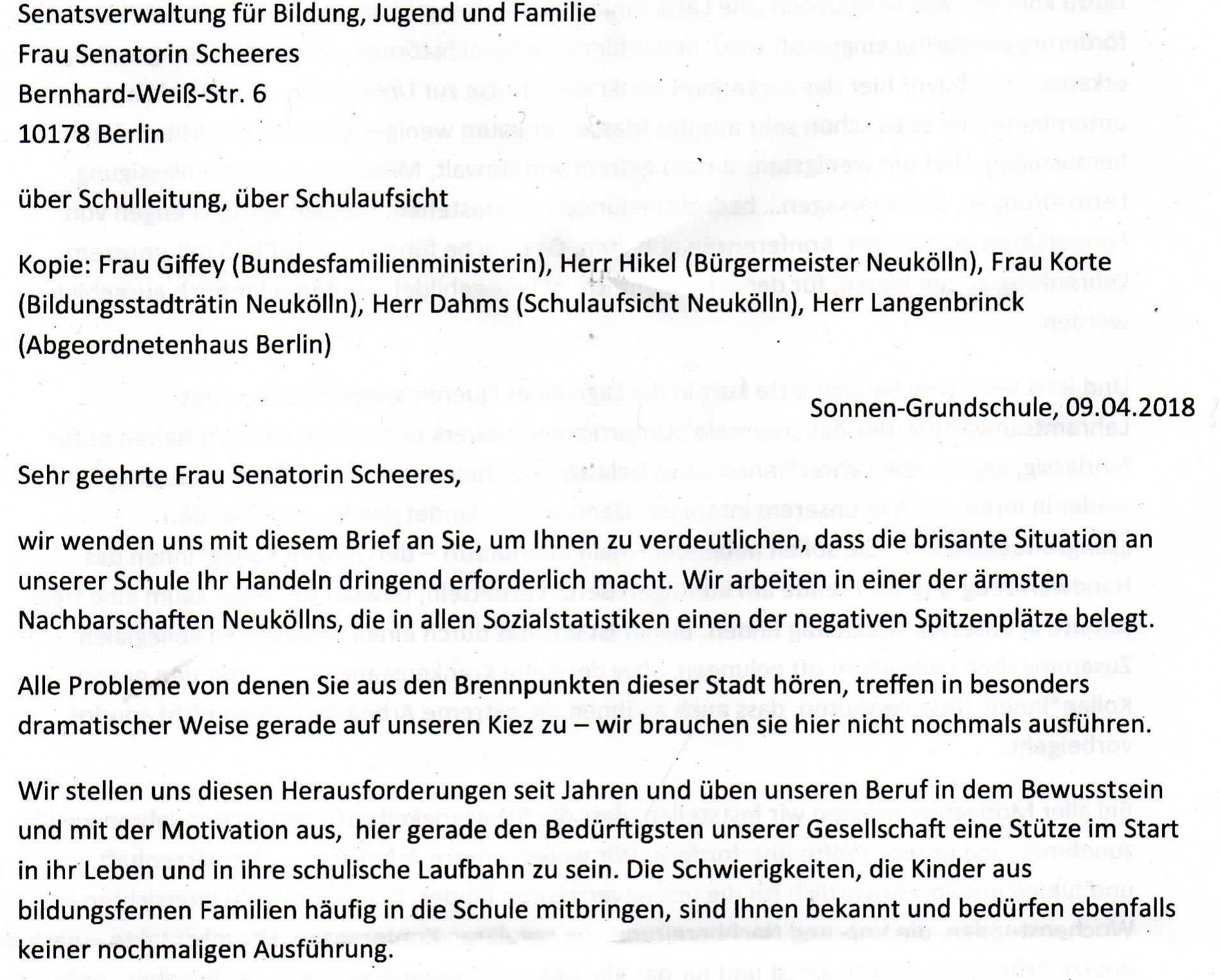 Schule und Inklusion | Schulforum-Berlin